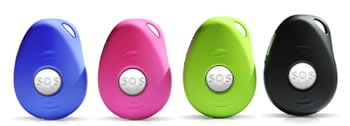 Smartsense GPS locator colours