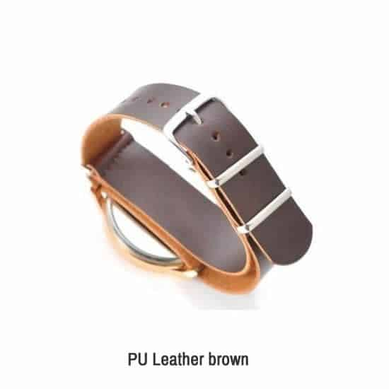 PU Leather brown